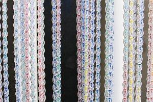 Fringe Curtain Background
