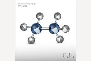 Ethane Molecule Image