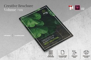 Creative Brochure Template Vol. 01