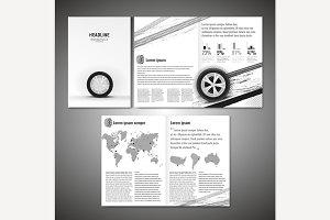 Tyre Brochure Design