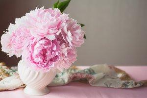 Pink Peony floral arrangement