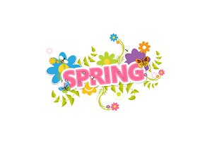 Collection of Spring Vector Design