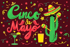 Cinco De Mayo Illustration