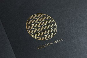 Golden Wave Logo