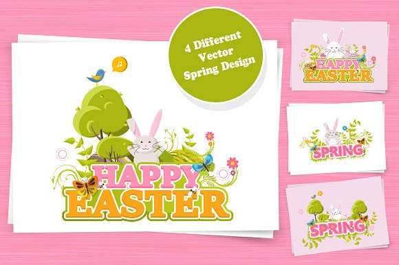easter happy 400 150 wide tall pixel background global creativemarket