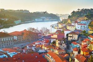 Beautiful Porto cityscape