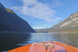 Hallstatt Lake Boat