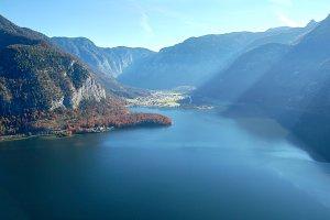Hallstatt lake view