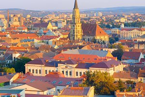View of Cluj-Napoca Old Town