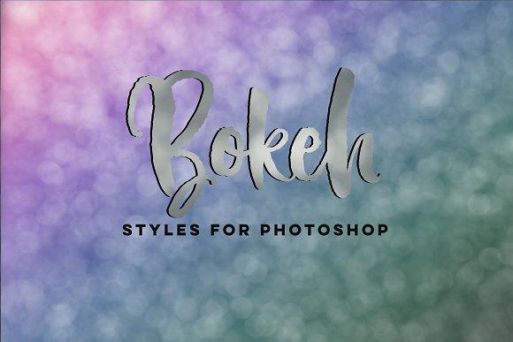 Bokeh Photoshop Styles