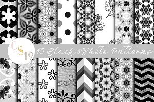 Black and White Patterns
