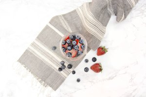 Fruit Infused Water & Tea Towel