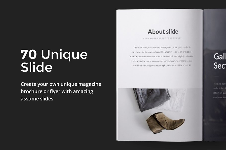 A4 Clarity Keynote Template Presentation Templates Creative