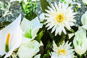 Artificial Bouquet Flowers