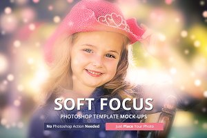 Soft Focus Photoshop Mockups