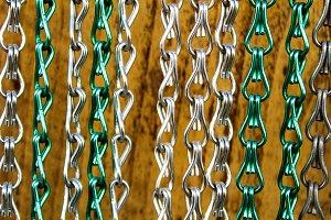 Metal Fringe Curtain