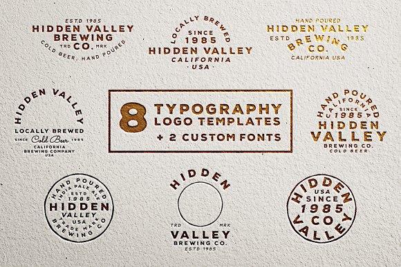 Hidden Valley Logo Templates