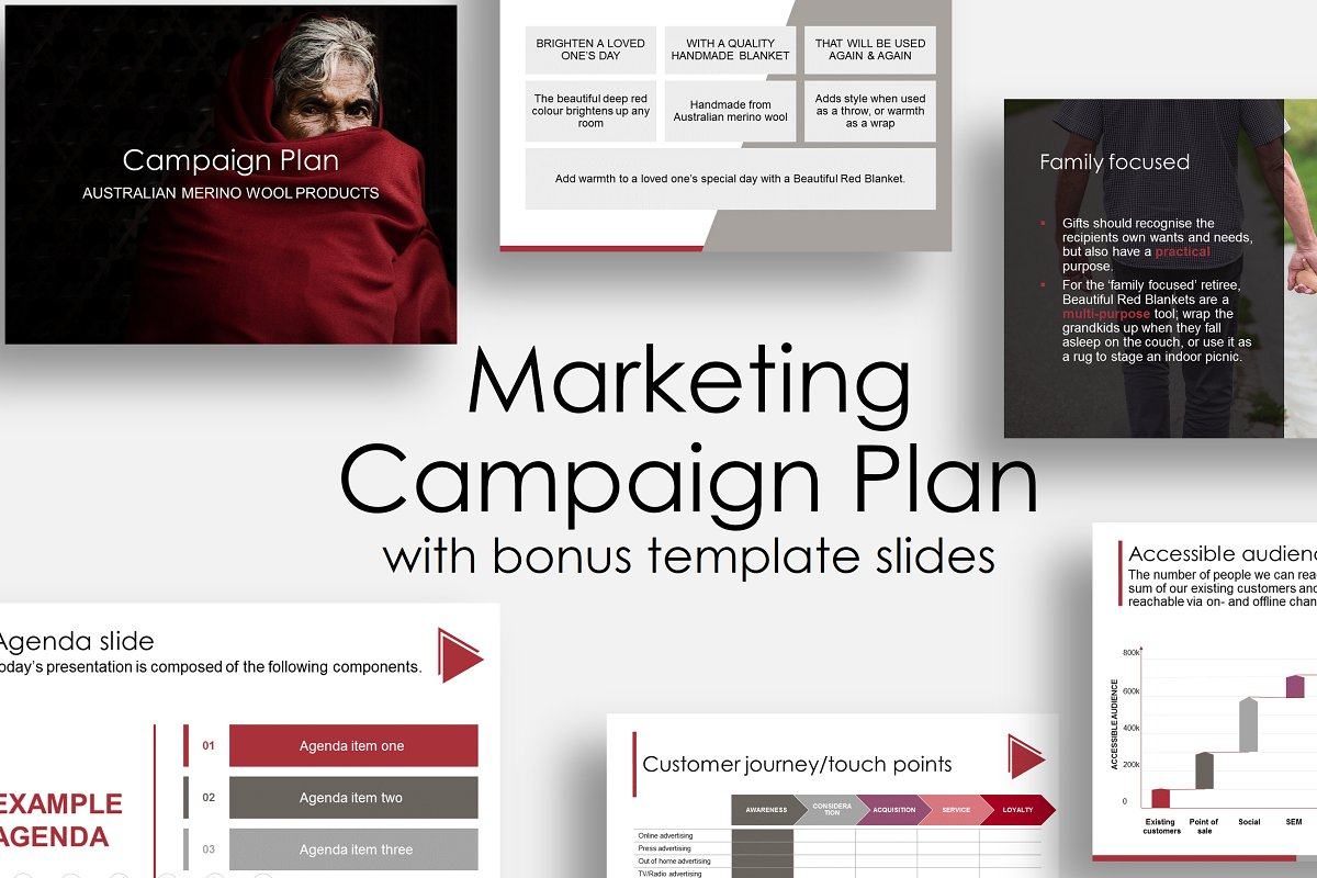 Marketing Campaign Plan PowerPoint Template