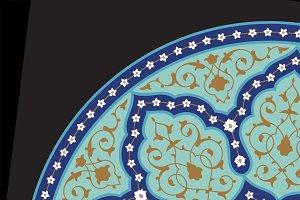 Arabic Circle Ornament