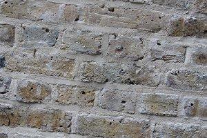 Brick Wall London, England Up Close