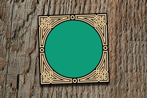 Morocco Interlaced Frame