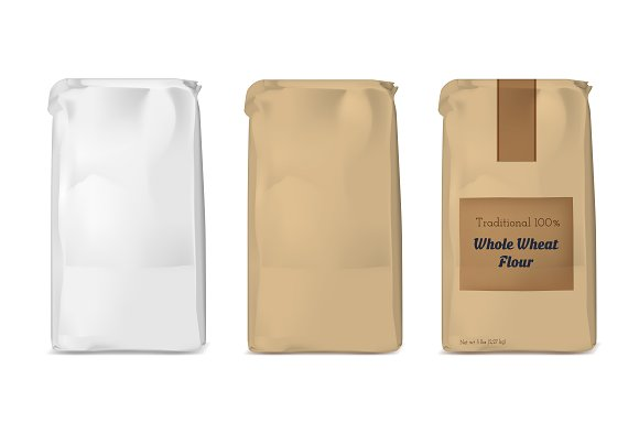 Vector White Soft Packing