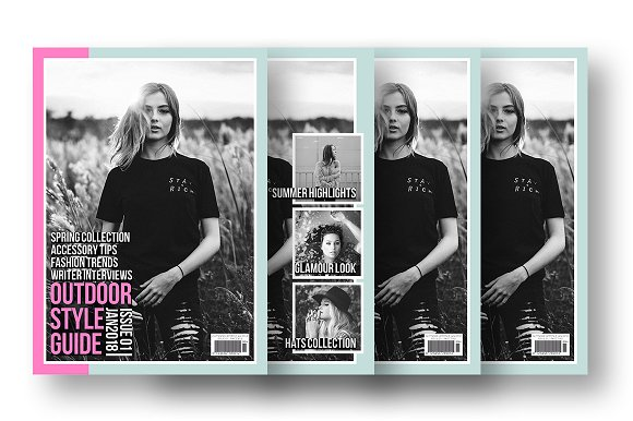 Magazine Cover Template 10