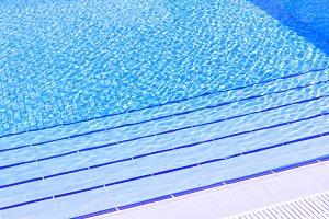 Water of pool