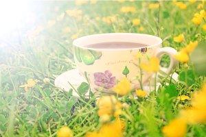 Tea for summer comfort