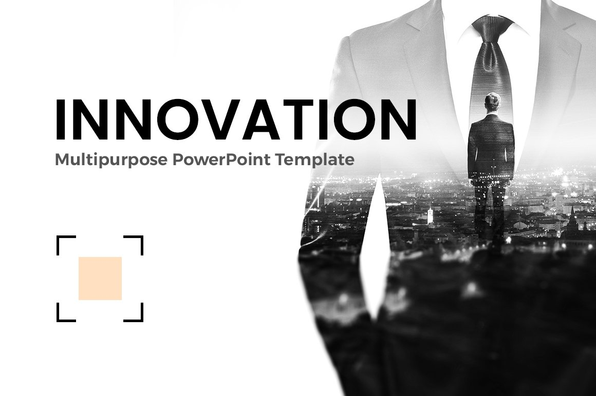 Startup powerpoint template presentation templates creative market business innovation powerpoint toneelgroepblik Gallery