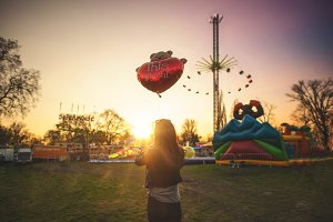 Lunapark - Romantic sunset