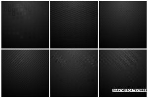 Black backgrounds. Striped textures.