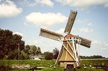 Dutch windmil