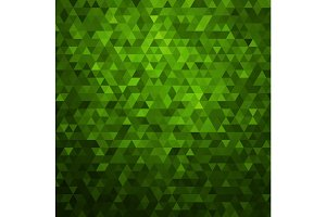 Abstract green colorful vector background