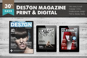 Des7gn Magazine Bundle
