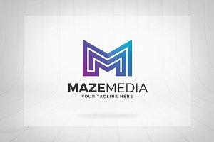 Maze Media - Letter M Logo