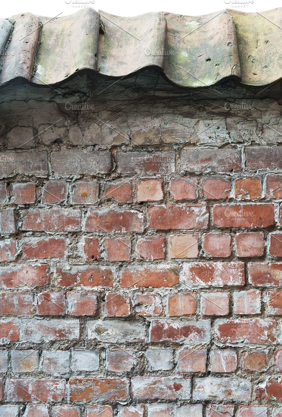 Wall Texture With Roofing
