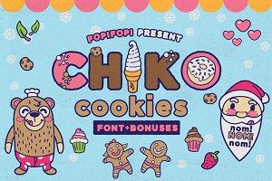 Chiko Cookies Typeface + Cute Bonus