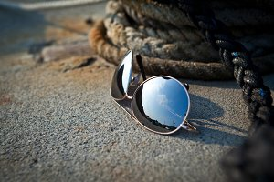 Sunglasses by Coiled Rope