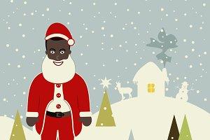 African American Santa Claus