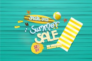 Summer Sale Vector Collection