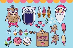Bear & Cookies