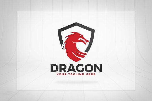 Dragon Shield Logo in Logo Templates