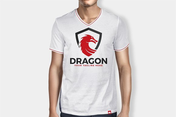 Dragon Shield Logo in Logo Templates - product preview 3