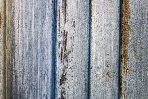 Rusted Shutter Detail