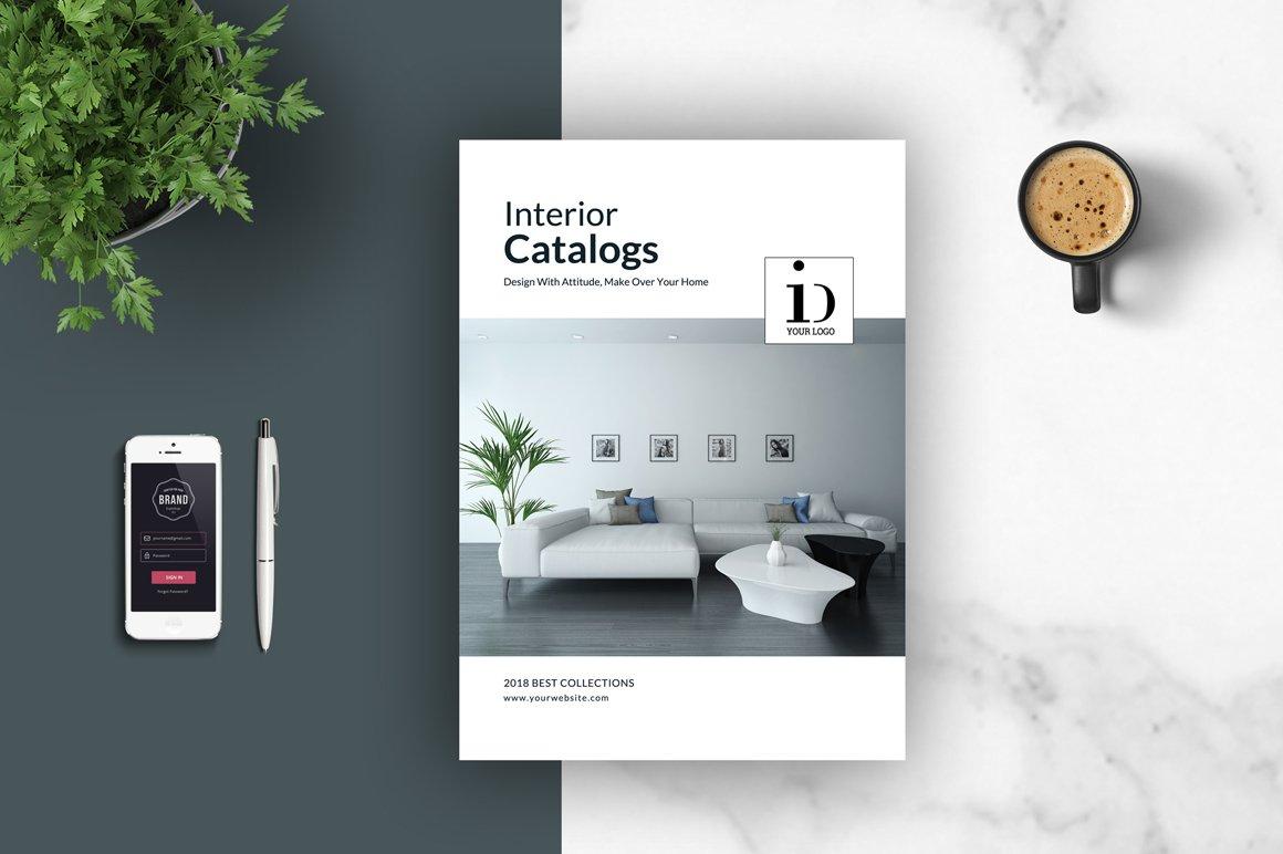Psd interior brochures catalogs brochure templates for Interior brochure designs