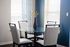 Modern Blues, Dining Room