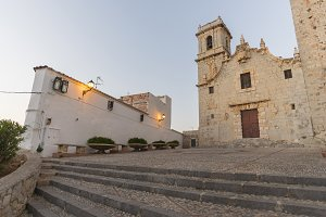Peniscola (Castellon, Spain).