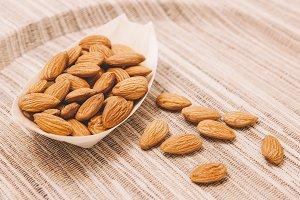Almond kernels Snack