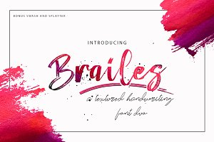 Brailes Font Duo